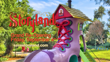 Storyland Grand Re-Open Friday September 4th!