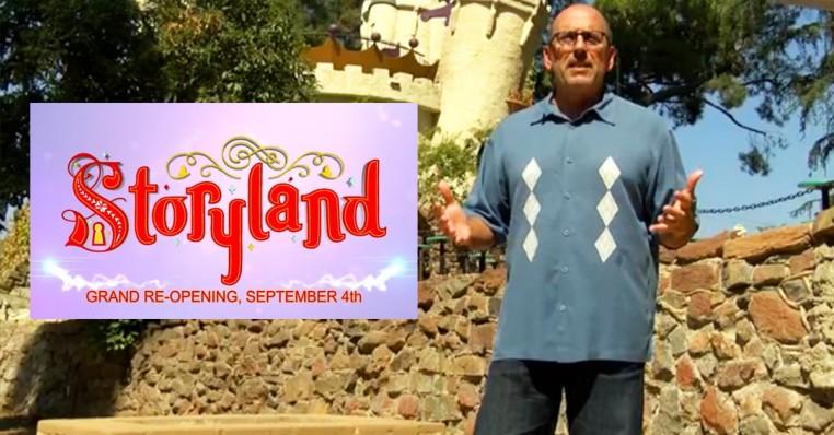 storyland grand re-open